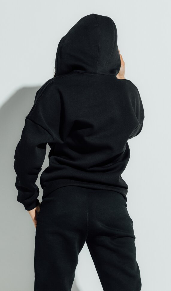 Толстовка Neck Zip Black