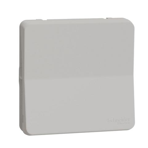 Выключатель/переключатель одноклавишный промежуточный(перекрёстный, схема 7). Цвет Белый. Schneider Electric(Шнайдер электрик). Mureva styl(Мурева стайл). MUR39023