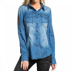 Рубашка жен. Affliction BLUE DAWN