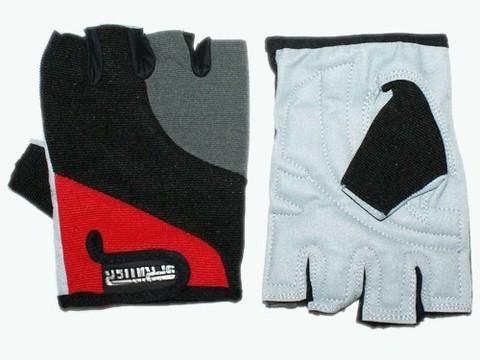 Перчатки для велосипедистов. Материал: ткань, замша. Размер XL. :(D):