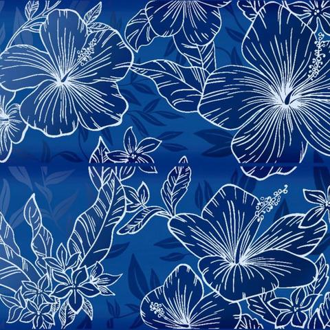 Декор KERLIFE Elissa Fiore Blu 505х402 (комплект из 2 шт)