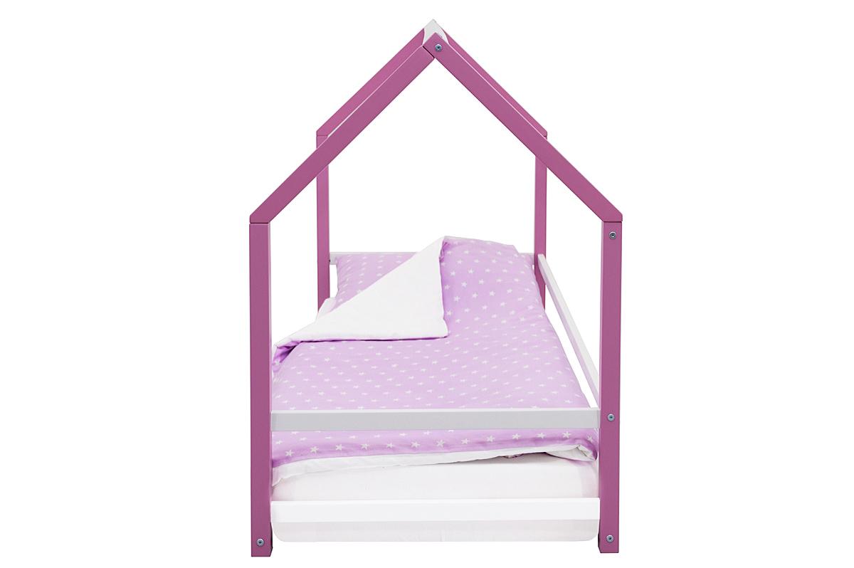 Кровать-домик Монтессори «Svogen» лаванда-белый