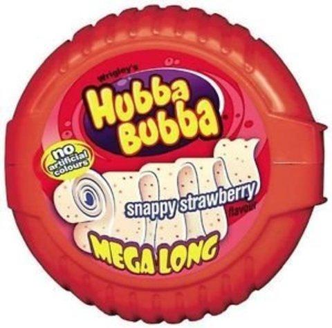 Жевательная резинка Hubba Bubba клубника 56 гр