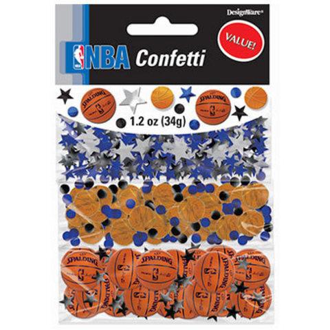 Конфетти Баскетбол 3 вида, 34 гр