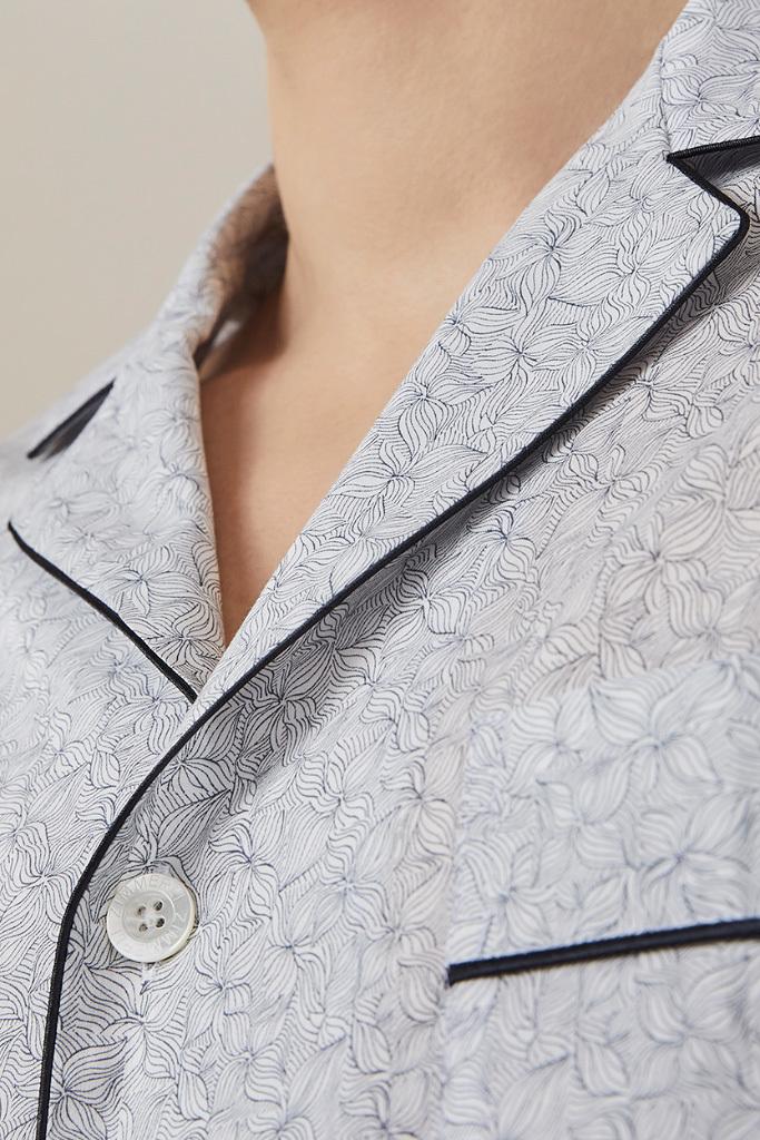 Стильная мужская пижама класса люкс Zimmerli