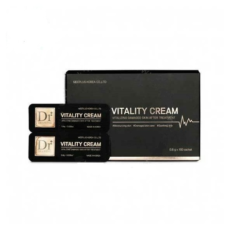 Восстанавливающий крем Dr.Drawing Vitality Cream (1 упаковка 100 штук - 0.8 гр.).