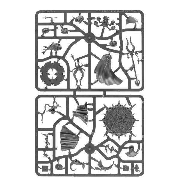 Ahriman, Arch-Sorcerer of Tzeentch. Литник