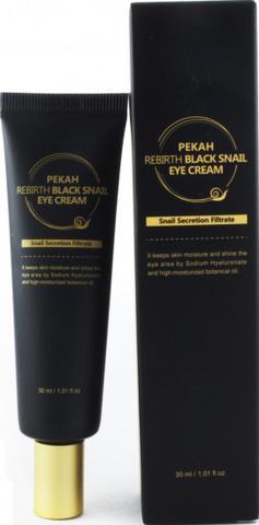 Pekah Крем для кожи вокруг глаз с муцином Черной Улитки Rebirth Black Snail Eye Cream, 30ml