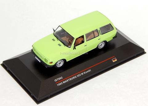 Wartburg 353 Kombi new grill yellow 1985 IST062 IST Models 1:43