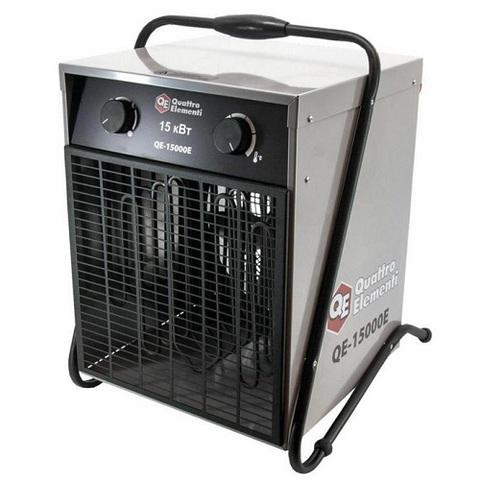Нагреватель воздуха электрический QUATTRO ELEMENTI QE-15000 E (7.5 / 15кВт, 380В-3ф, 1400  (640-445)