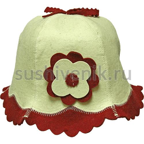 Войлочная шапка Красотка