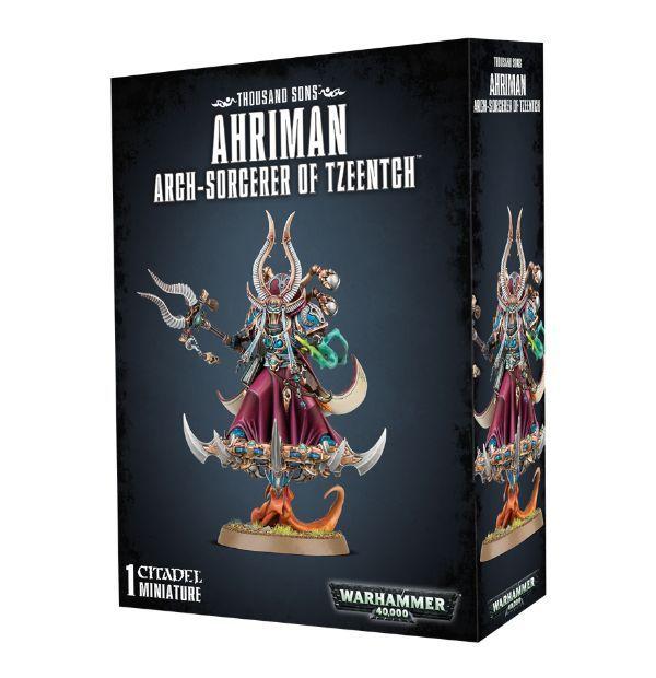 Ahriman, Arch-Sorcerer of Tzeentch. Коробка