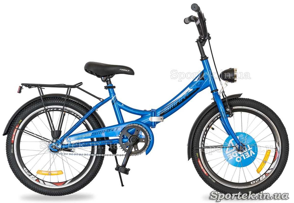 Formula Smart с колесами 20 дюймов - синий