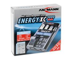 Мультифункциональное зарядное устройство ANSMANN ENERGY XC3000 для Ni-MH, Ni-Cd, Li-Ion/Li-Po аккумуляторов