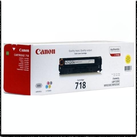 Cartridge 718 Yellow