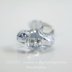 6919 Подвеска Сваровски Ключик Crystal Blue Shade (30 мм)