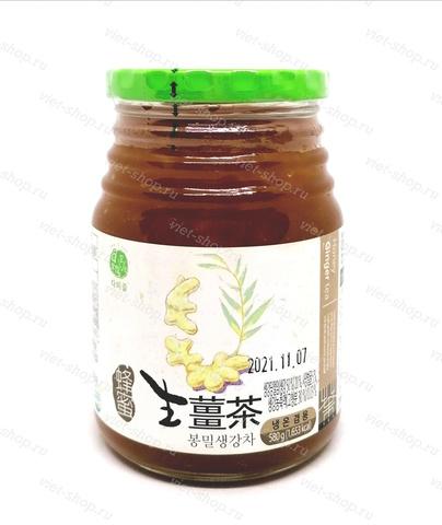 Имбирь с медом, Корея 580 гр.
