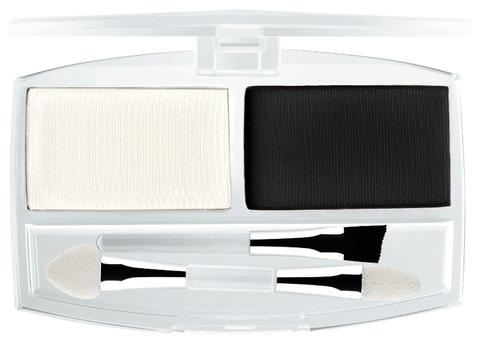 Ffleur тени ЕВ 01 тон 7С  для век и бровей с аппликатором и кистью (чёрно-белый )