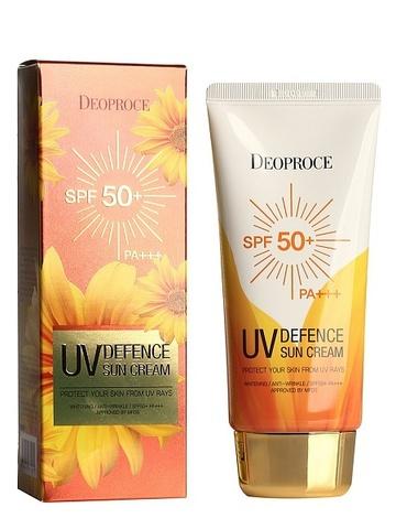 Солнцезащитный крем DEOPROCE UV DEFENCE SUN PROTECTOR SPF50+ PA+++ (70g)