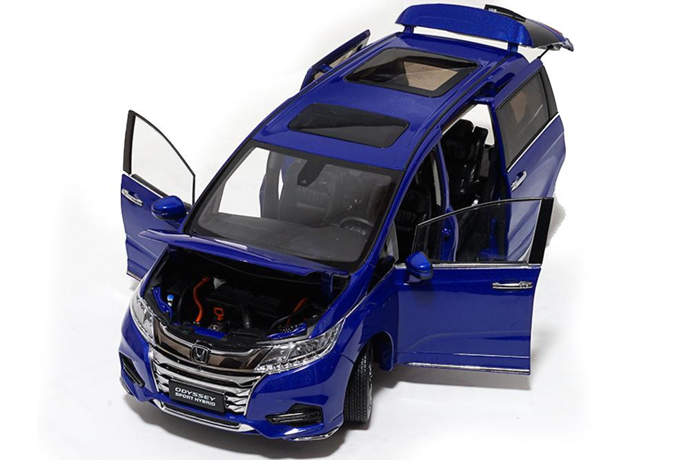 Коллекционная модель HONDA ODYSSEY 2019 BLUE