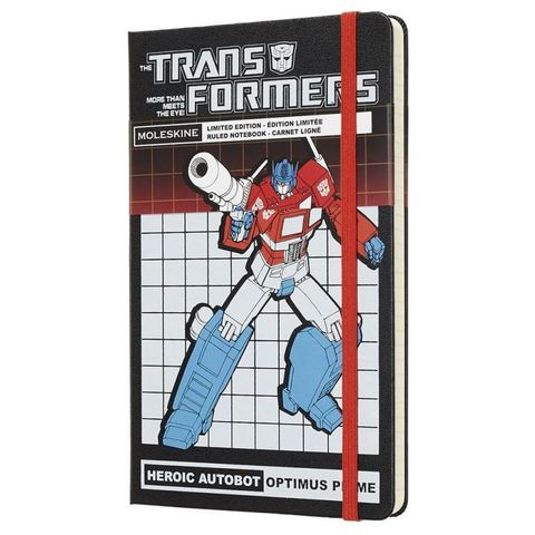 Блокнот Moleskine Limited Edition TRANSFORMERS LETFQP060OP Large 130х210мм 240стр. линейка OPTIMUS PRIME
