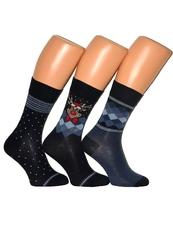 Носки новогодние CORNETTE (Premium 3-pak)