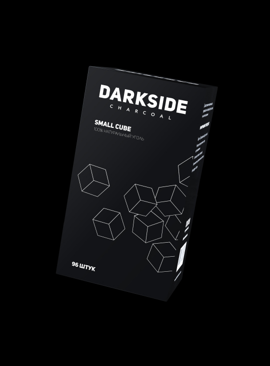 Уголь DARKSIDE CHARCOAL SMALL CUBE