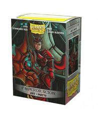 """Dragon Shield - Матовые протекторы """"Emperor Scion"""" (100 штук)"""