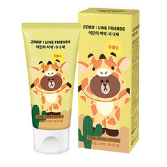Зубная паста CHARACTER WORLD 2080 Line Friends Kids Toothpaste Banana 60g * 6ea