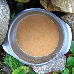 Суп-пюре грибной 'Фабрика здоровой еды', в тарелке
