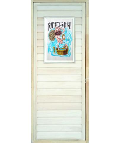 Дверь глухая с панно 2D