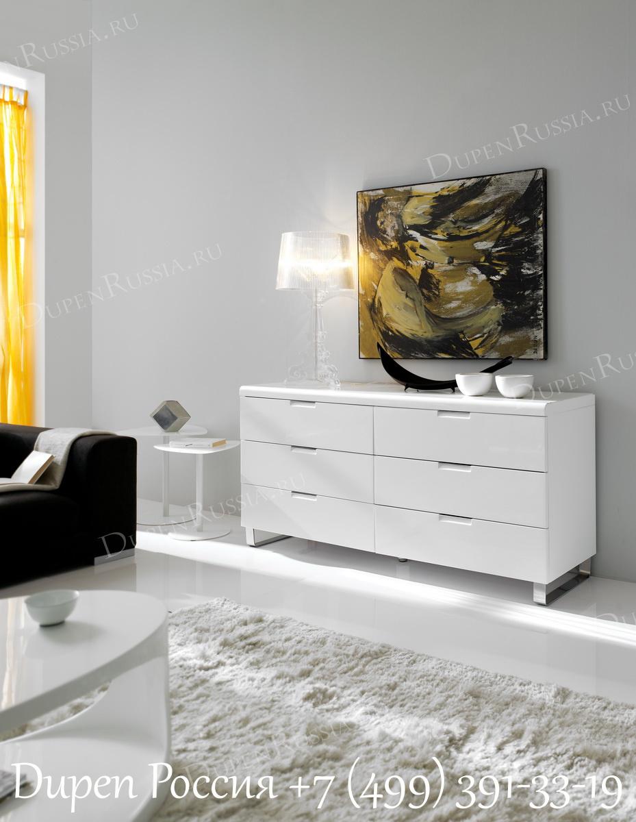 Светильник 6010-C1, комод DUPEN C-106 белый
