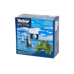 Морской бинокль Veber Waterproof 7x50 БПс плавающий