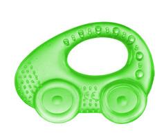 Canpol babies. Прорезыватель водный охлаждающий Автомобиль, 0+, зеленый