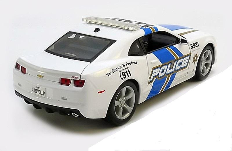 Коллекционная модель Chevrolet Camaro SS RS Police 2010