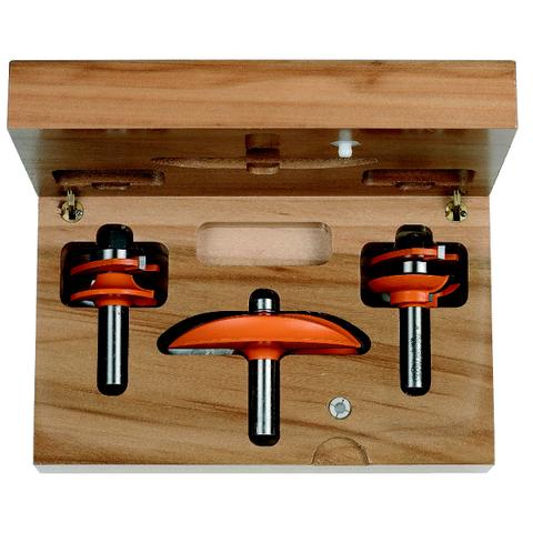 Набор для изготовления кухонной мебели, 3 фрезы СМТ D