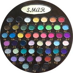 Полная палитра цветов, 49 оттенков, объем 10 мл, лаковые краски, перламутровые оттенки