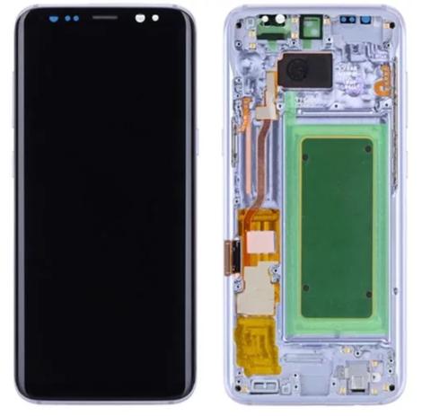 LCD SAMSUNG Galaxy S8 Plus G955F + Touch + Frame Blue Orig