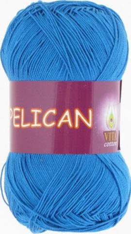 Пряжа Pelican (Vita cotton) 4000 Ярко-голубой