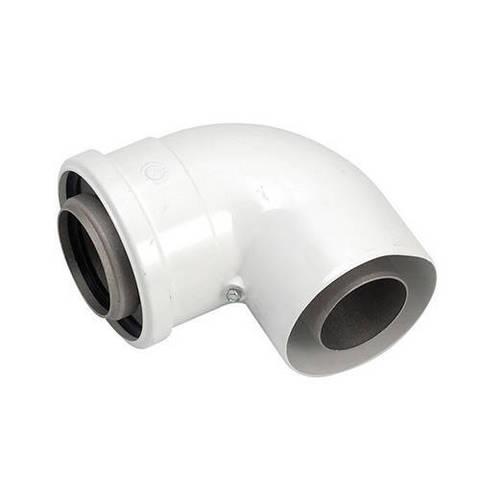 Отвод 87° для коаксиального дымохода Viessmann LAS D60/100 мм