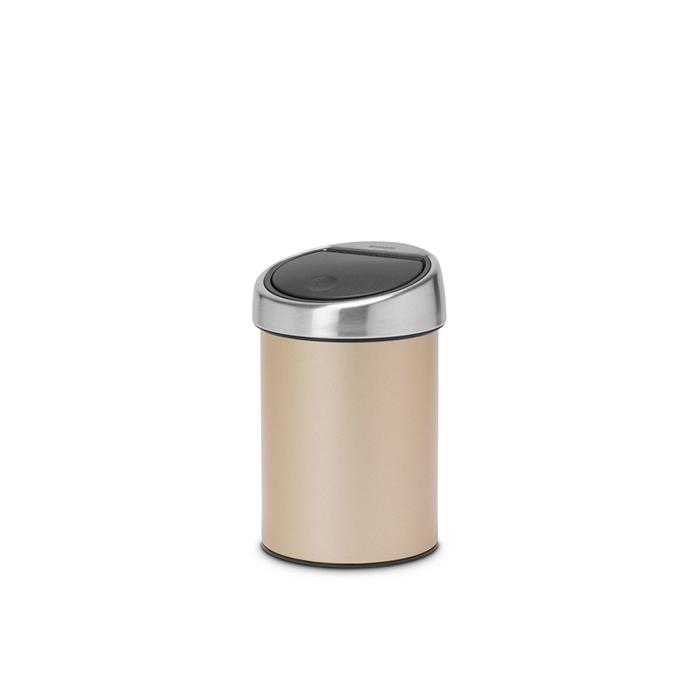 Мусорный бак Touch Bin (3 л), Шампань, арт. 304668 - фото 1