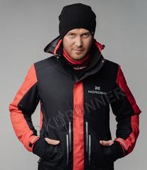 Горнолыжная куртка Nordski Extreme Black-Red мужская