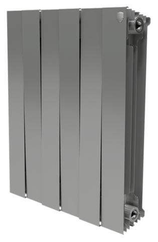 RoyalThermo PianoForte 500 Silver Satin, 6 секций - радиатор биметаллический