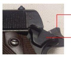 Miniature Colt 1911