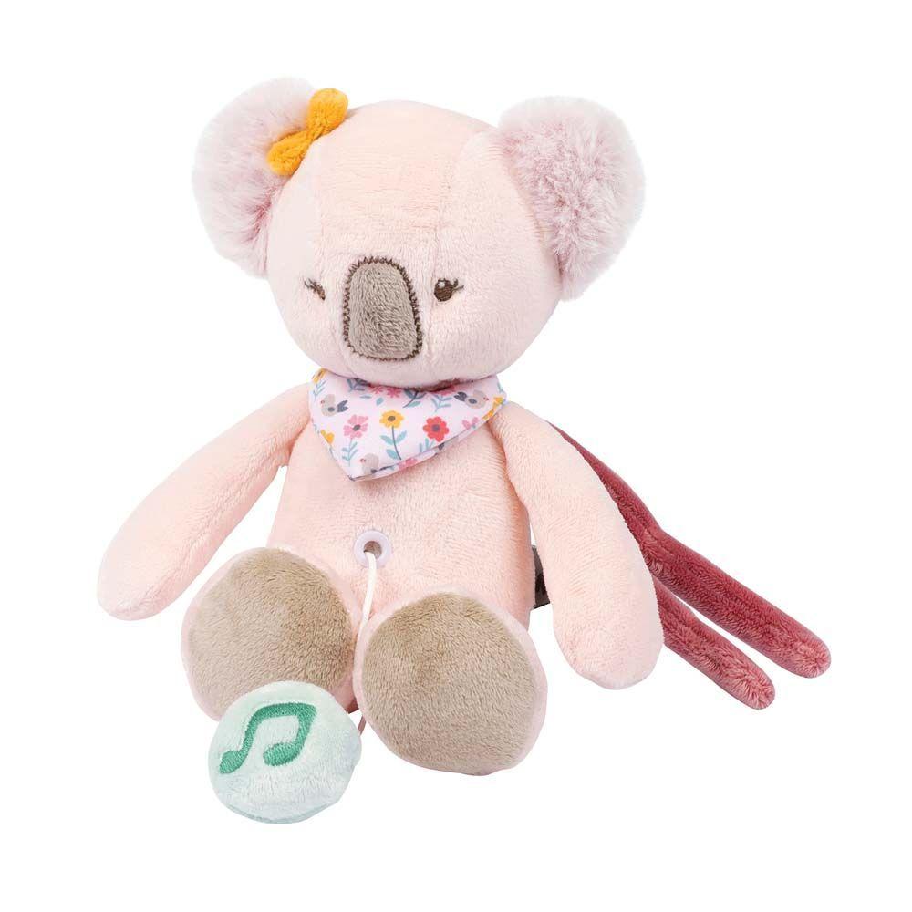 Игрушка мягкая Nattou Musical Soft toy (Наттоу Мьюзикал Софт Той) MINI Iris & Lali Коала музыкальная 631075