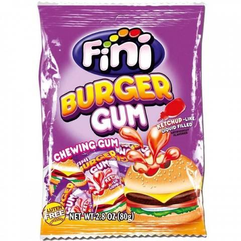 Жевательная резинка Fini Burger gum 80 гр