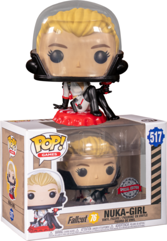 Фигурка Funko Pop! Games: Fallout 76 - Nuka-Girl (Excl. to GameStop)