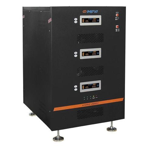 Стабилизатор трёхфазный Энергия Hybrid 45000 II поколение