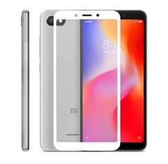 Защитное стекло 2.5D Xiaomi Redmi 6/6A (Белое)