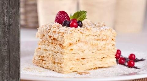 Торт Наполеон Пекарня Дон Батон 0,4кг
